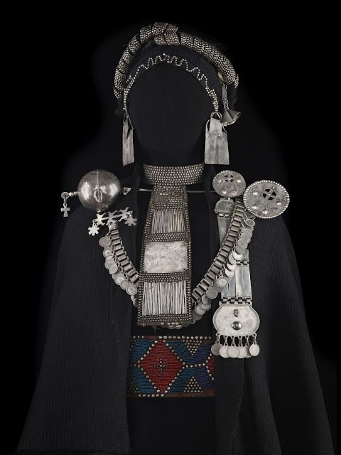 Mapuche jewelry - Chile...