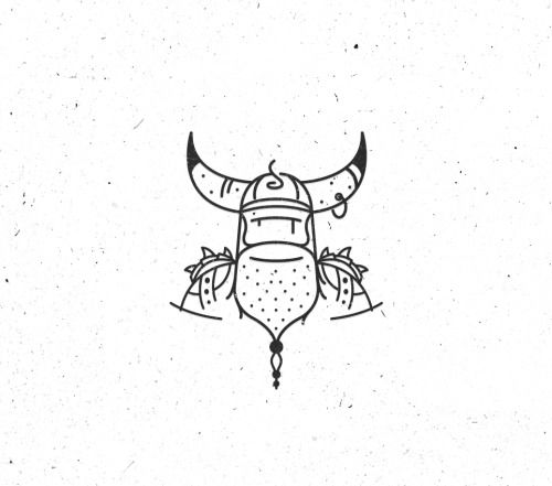 Viking illustration.