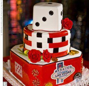 Las Vegas Themed Wedding Receptions