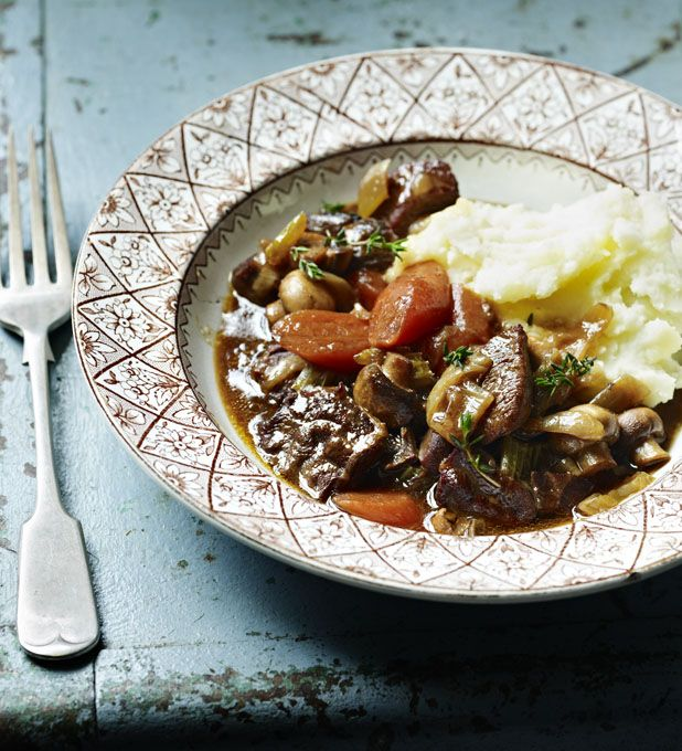 A comforting stew that is smart enough to serve for a dinner party. I like to serve it with mashed potatoes or dauphinoise and a green vegetable.