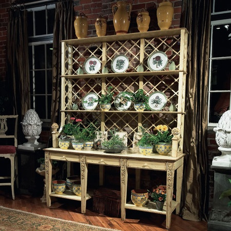 habersham plantation dining room trellis sideboard boyles furniture hickory nc and mocksville nc - Habersham Furniture