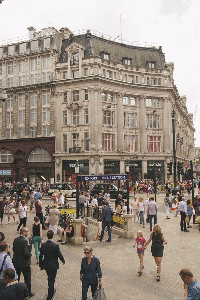 Oxford Circus Station, London