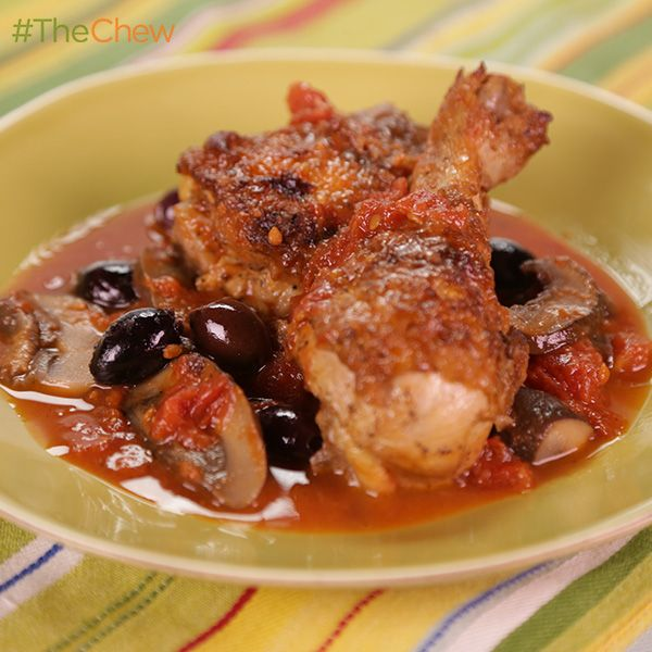 "Hunter's Chicken by Martina McBride from her new cookbook ""Around the Table,"" as seen on #TheChew!"