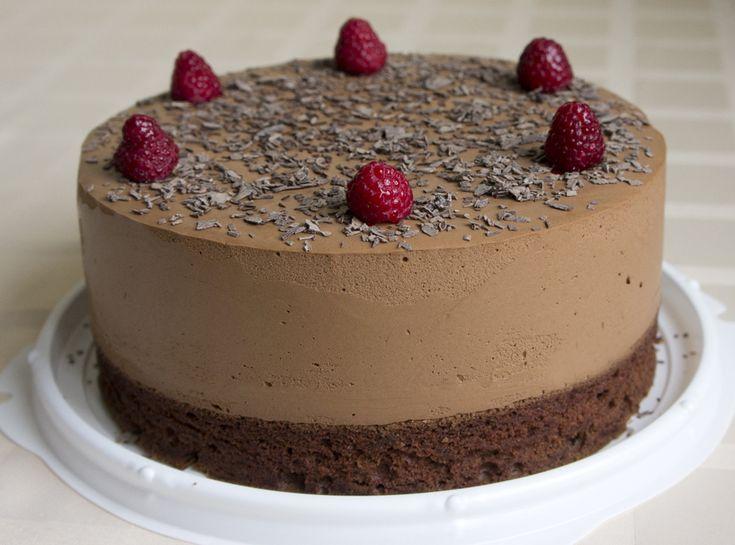 Торт Облака в шоколаде
