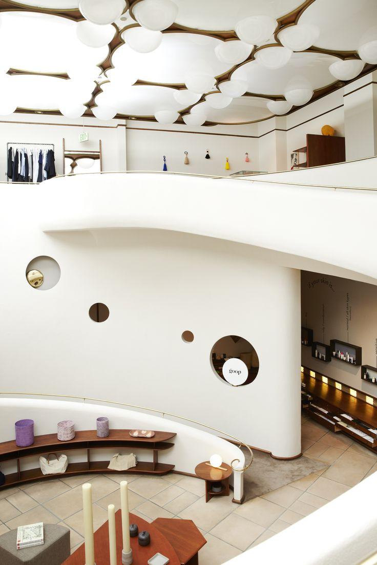 Etienne de souza designer and manufacturer of luxury cabinet - A First Look Inside Gwyneth Paltrow S New Pop Up Goop Mrkt San Francisco