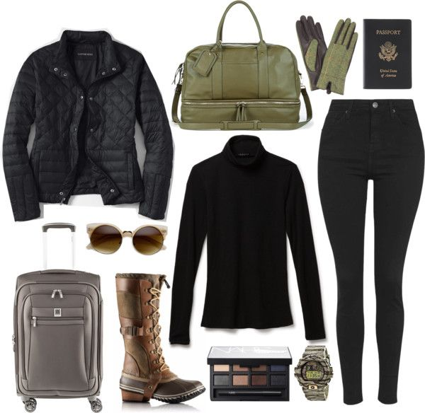 Airport Winter Travel Outfit 9