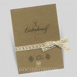 Hochzeitseinladungen berlin