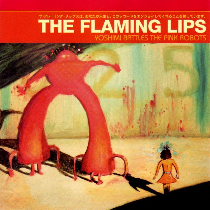 the flaming lips- yoshimi battles the pink robotsMusic, Album Covers, Pink Robots, Worth Listening, Yoshimi Battle, The Flames Lips, Awesome Album, Favorite Album, Album Art