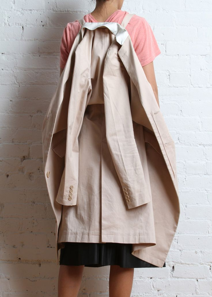 Vintage Helmut Lang Coat with Backpack Straps :: Outer :: United Bamboo