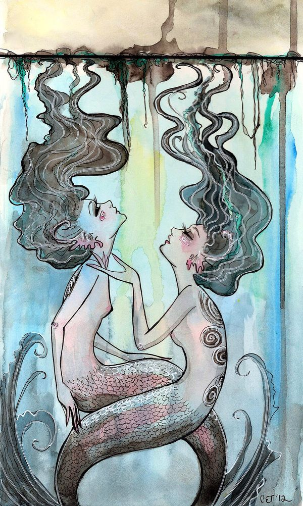 ✯ Water Nymphs :: Artist Courtney Thomas ✯