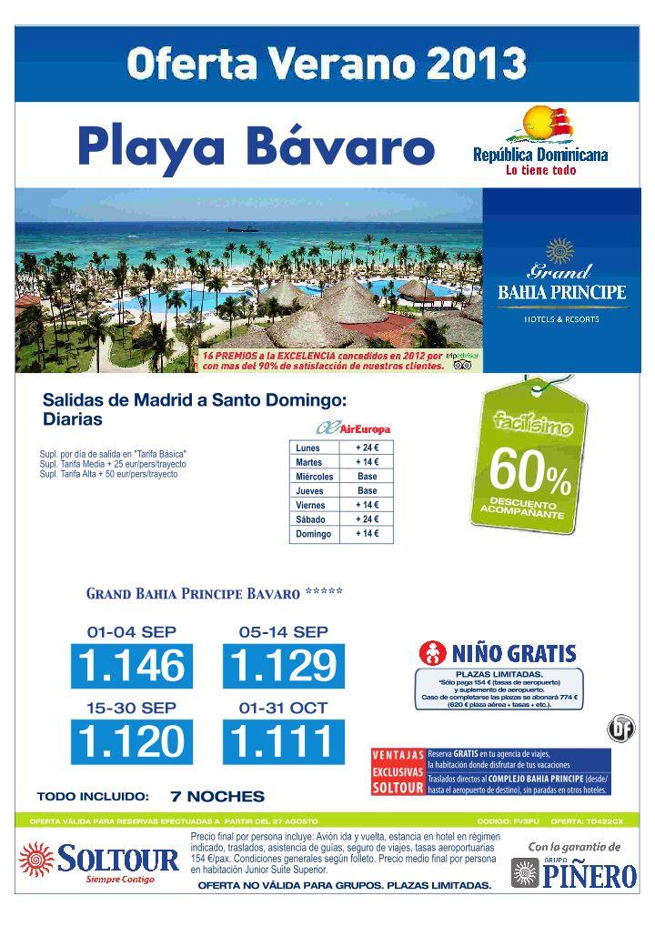 Playa Bávaro (Rep. Dominicana) 60% Grand Bahia Principe Bavaro (Vuelos Santo Domingo), salidas desde Madrid Septiembre-Octubre - http://zocotours.com/playa-bavaro-rep-dominicana-60-grand-bahia-principe-bavaro-vuelos-santo-domingo-salidas-desde-madrid-septiembre-octubre/