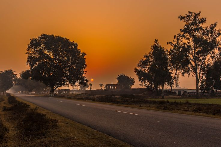 Beautiful Sunrise in India by ryosho shimizu on 500px