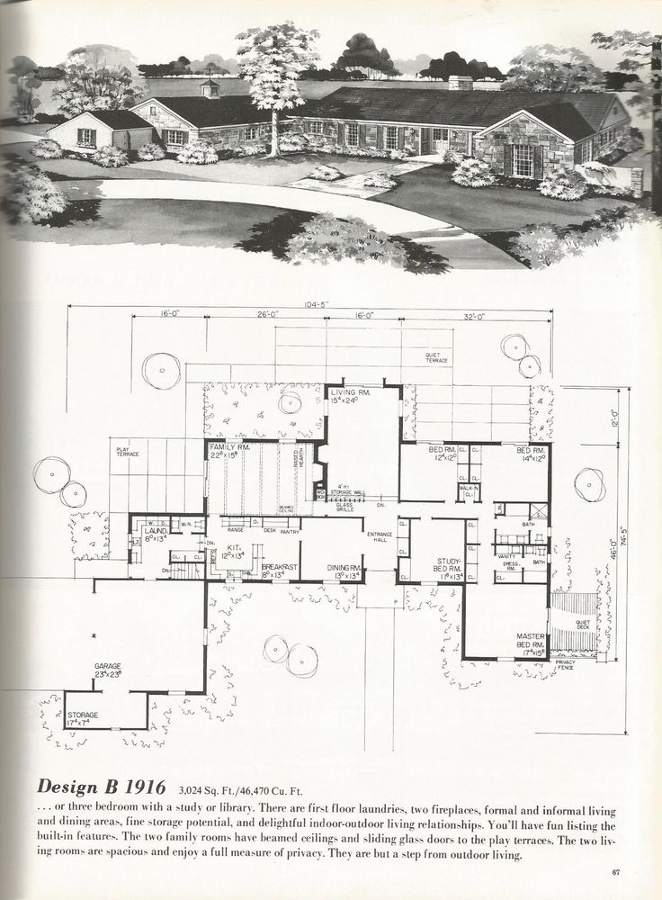 119 best vintage houseplans images on pinterest | architecture