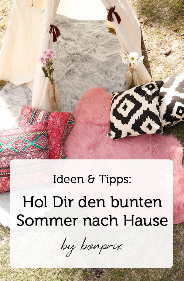 Hallo Sommer Wie Ihr Den Sommer Zu Euch Nach Hause Holt Zeigen