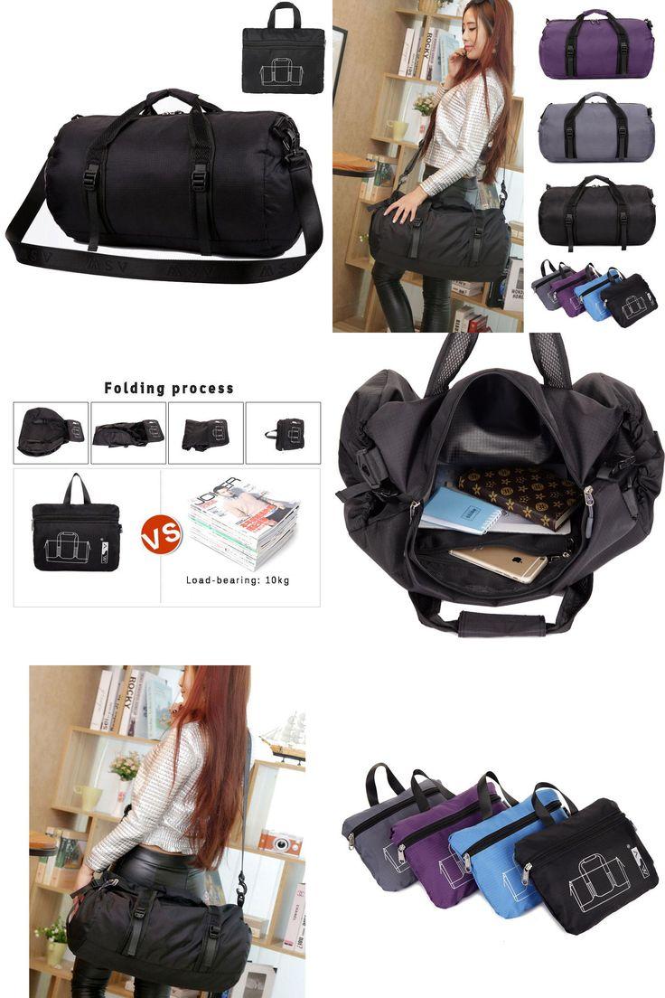 [Visit to Buy] Sport Bag For Women Fitness Multifunction  Shoulder/Messenger Bag/Handbag Foldable Travel Duffle Package Waterproof Men gym bag #Advertisement