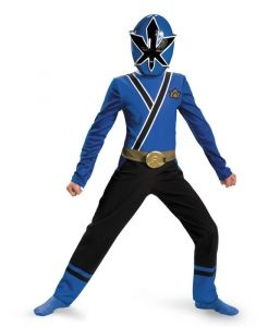 Blue Power Ranger Costume - Kids Costumes