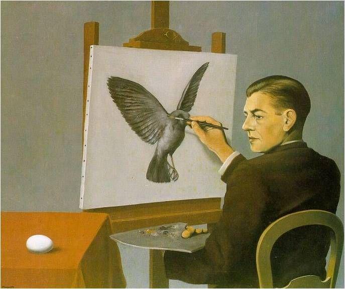 René Magritte 내가 생각하는 이 세상 최고의 그림.