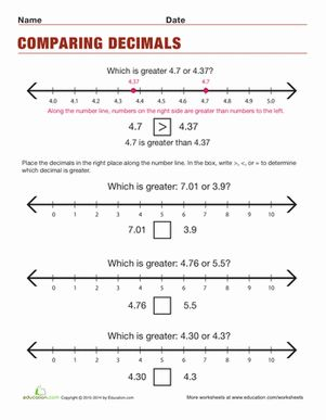 1000+ ideas about Decimals Worksheets on Pinterest | Task cards ...