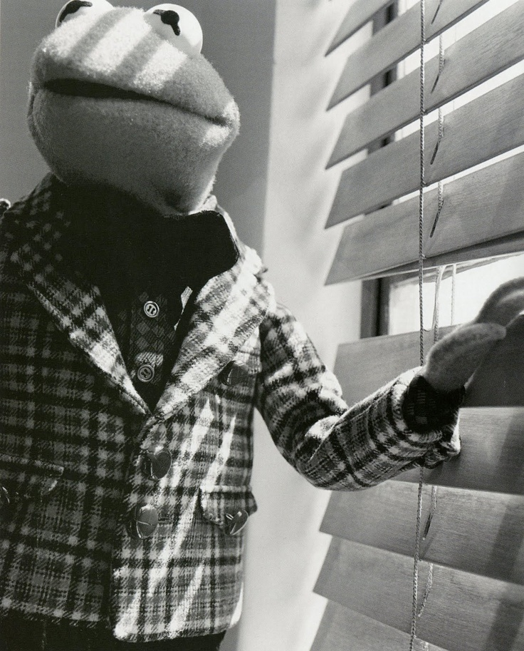 Kermit in another vintage moment.