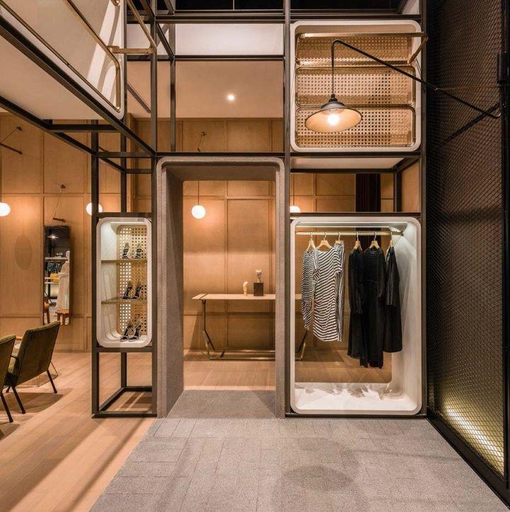 Chuang x Yi: The Modular Lilong by Lukstudio, Shanghai – China » Retail Design…