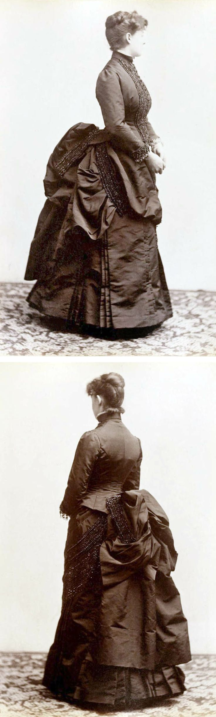 From the Lord & Taylor catalog, The Latest Style in Ladies' Suits, 1885. Winterthur Museum via The Wayback Machine