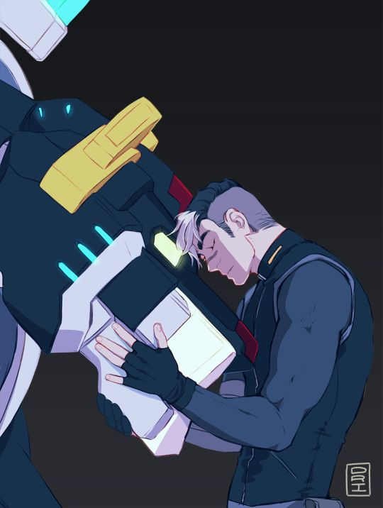 drisrt: Shiro week Day 2: Champion/Leadership: The black lion is the decisive head of Voltron. It will take a pilot who is in control at all times. That is why, Shiro, you will pilot the Black Lion.