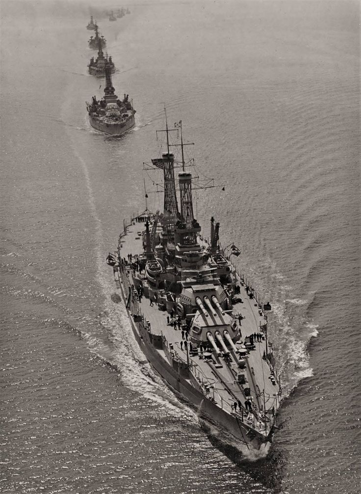 USS New Mexico (BB-40), USS Oklahoma (BB-37), and USS Nevada (BB-36),1919