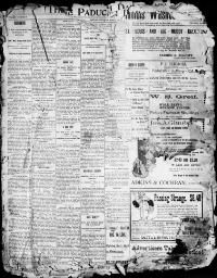 MCCRACKEN COUNTY, Kentucky - Paducah - 1896-1898 -  The Paducah Daily Sun.  « Chronicling America « Library of Congress