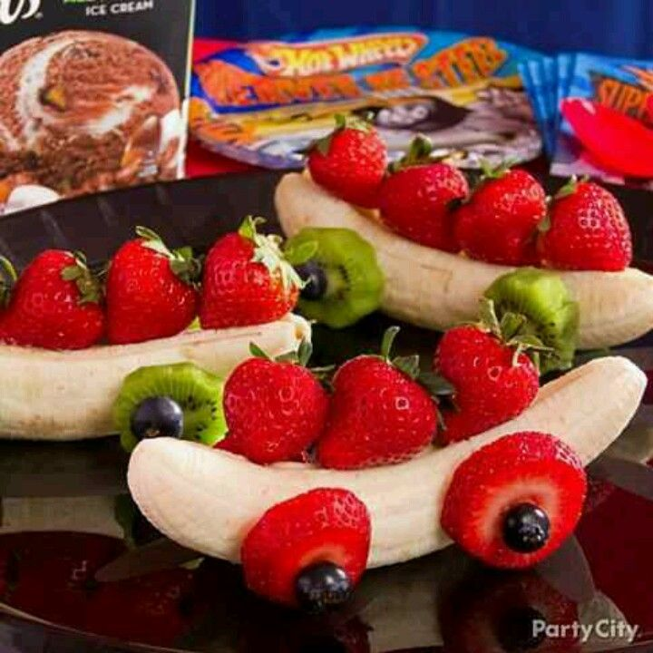 Fruit Cars for a fun kids snack