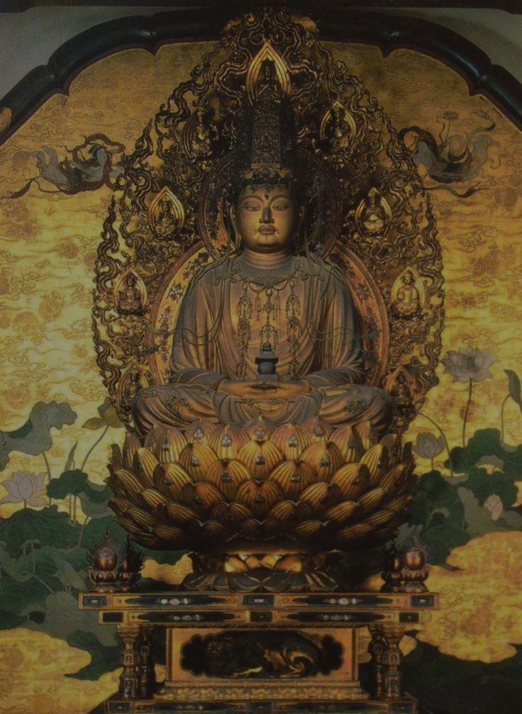 Statue of Maitreya, Kaikei, Daigoji temple, Kyoto