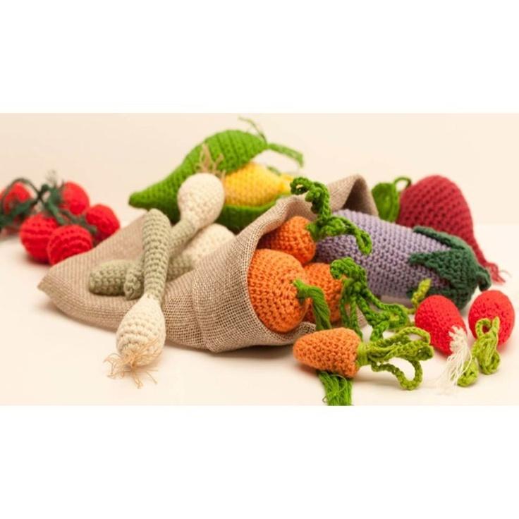Tuto Amigurumi Fruit : Amigurumi haken Groente & Fruit - DMC haakpakket Haken ...