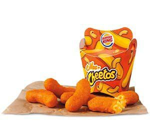 BURGER KING® restaurants and the CHEETOS® brand are bringing back Mac n' Cheetos™ a combination of creamy mac n' cheese covered with CHEETOS® flavor. Back by popular demand, Mac n' Cheetos™ are the portable solution to all snack attacks and a tasty re-imagination of classic mac n' cheese goodness. Mac n' Cheetos™ will return for a limited time at participating restaurants starting May 18.