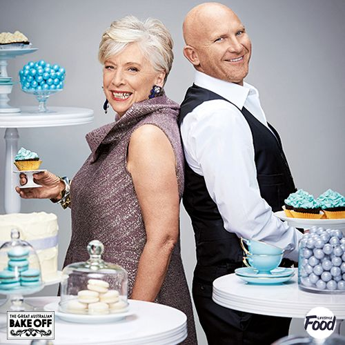Looking for inspiration to bake? Catch Maggie & @chefmattmoran on tonight's ep of @BakeOffAU 8:30pm @LifeStyleFOOD