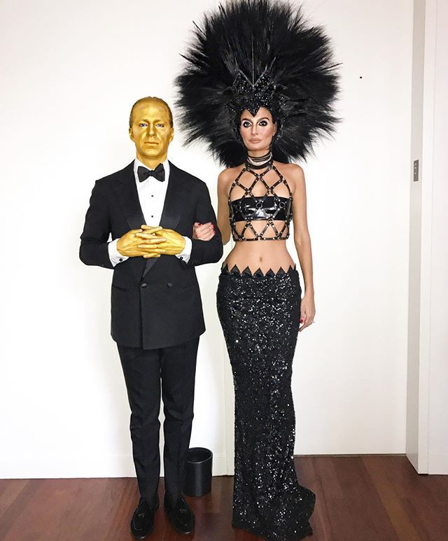 And then Cher with  Oscar #cherandoscar #nievesandjulio