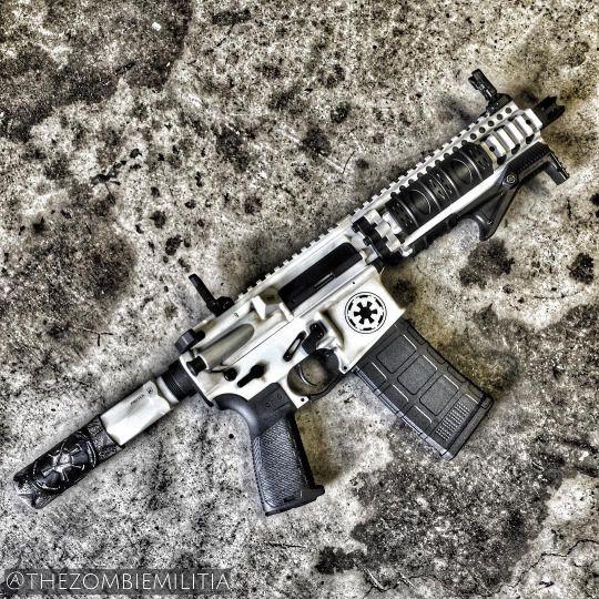 knives, guns, and tactical gear