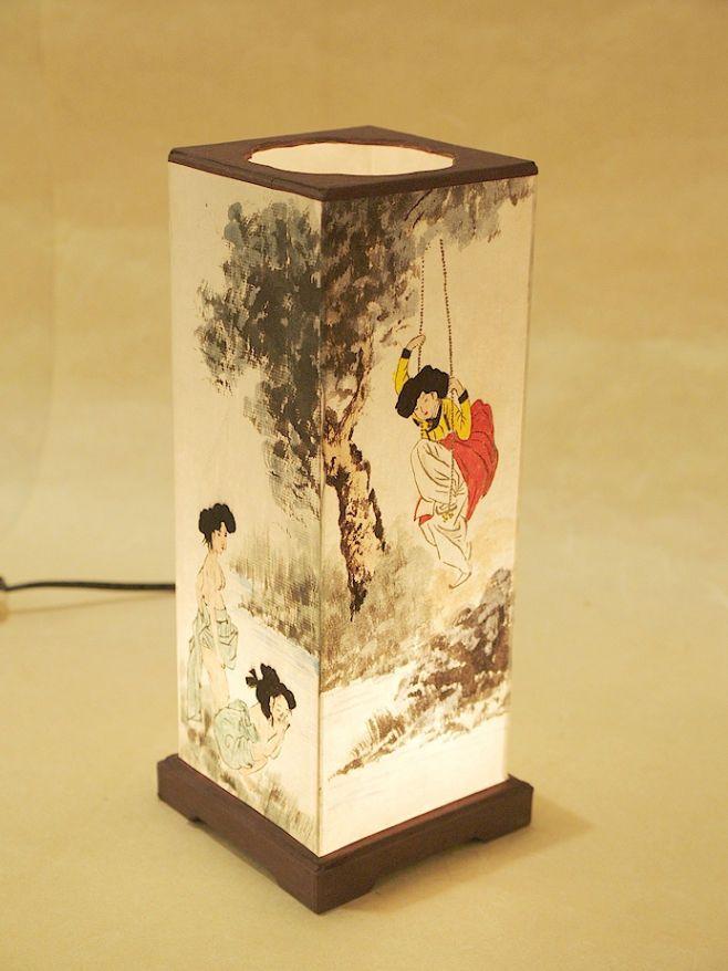 #Korea #Antique #LivingRoom #Bedroom #Interior #Design #Decor #PaperLantern #Stand #Lamp #FolkPainting #DURICRAFT