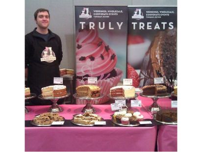 Adam at Caterfood Trade Show