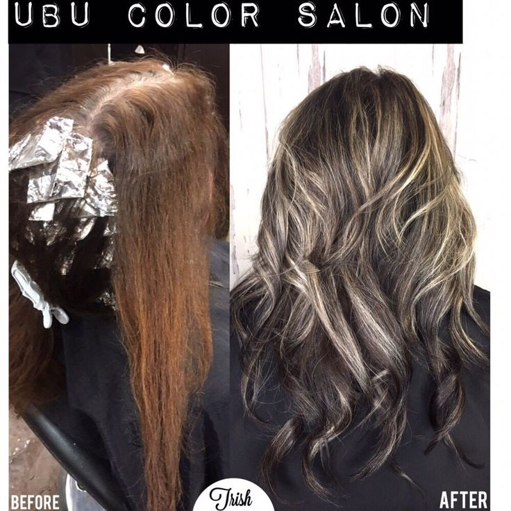 From box color to stylish gray bombshell! Easier to maintain and looks beautiful even when new growth comes in! #trishhisey #ubucolorsalon #tampa #hair #grayspecialist #greyspecialist #redken