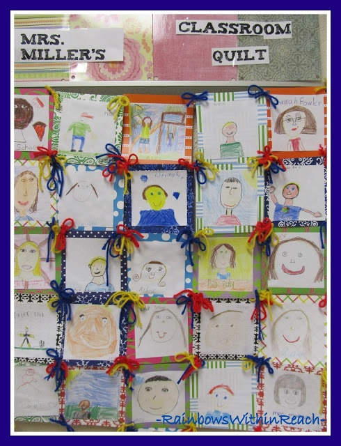 Classroom Paper Quilt Ideas ~ Quilts in the classroom geometry collaboration