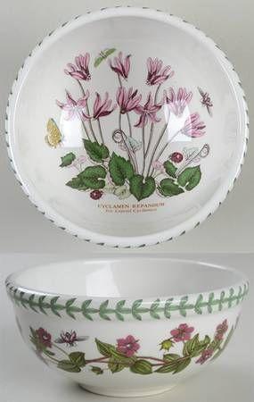 Portmeirion Botanic Garden Individual Salad/Dessert/Fruit Bowl