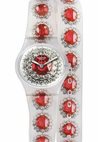 Swatch Watch Swatch Lady LK342 RUBY SILVER No description (Barcode EAN = 7610522441064). http://www.comparestoreprices.co.uk/ladies-watches/swatch-watch-swatch-lady-lk342-ruby-silver.asp