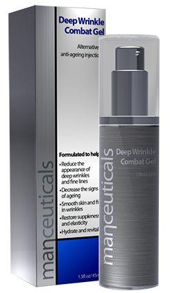 Deep Wrinkle Combat Gel De wetenschappelijke oplossing voor fronsrimpels - ideaal in combinatie met Botox® Resultaat Werkt voornamelijk op de diepe groeven en frons (uitdrukkings-)rimpels ter hoogte van voorhoofd, rimpels rond de ogen en lippen en de verticale rimpellijnen tussen neus en lippen.