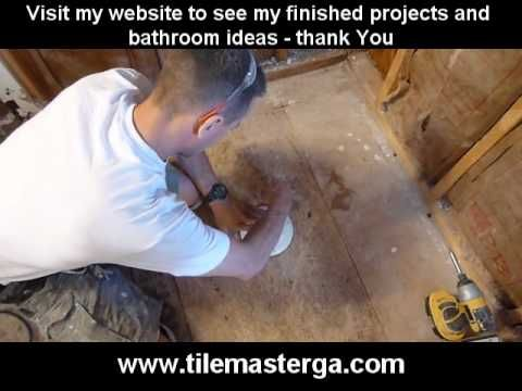 In this video I am showing shower drain installation   when using pan liner and tiling shower floor  and p trap installation  I a. 1000  ideas about Shower Drain Installation on Pinterest   Shower