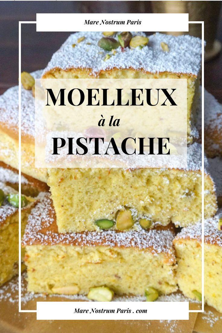 Notre recette de gâteau moelleux à la pistache idéale pour un goûter avec un bon thé à la menthe #recettefacile #iran #pistaches #dessert