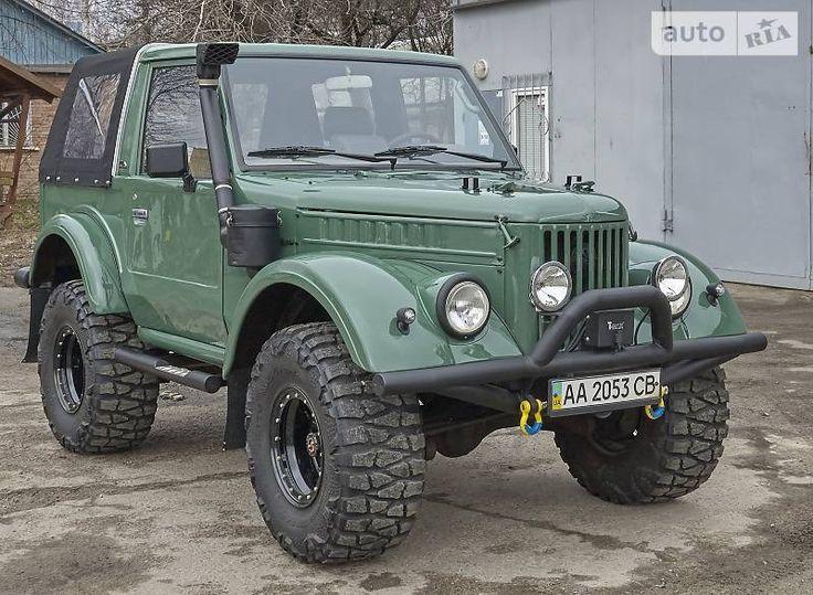 Украинец переделал Toyota Land Cruiser в ГАЗ-69   ТопЖыр