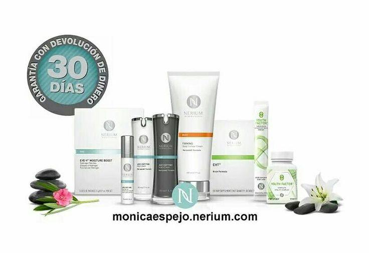 Por cada año de uso contínuo de Nerium, tu piel rejuvenece 10 años. Adquiere los productos en 👉 monicaespejo.nerium.com