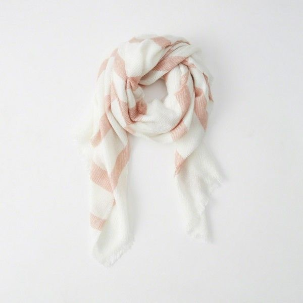 Abercrombie & Fitch Woven Scarf ($23) ❤ liked on Polyvore featuring accessories, scarves, pink stripe, tartan plaid scarves, tartan scarves, pink shawl, woven shawl and woven scarves