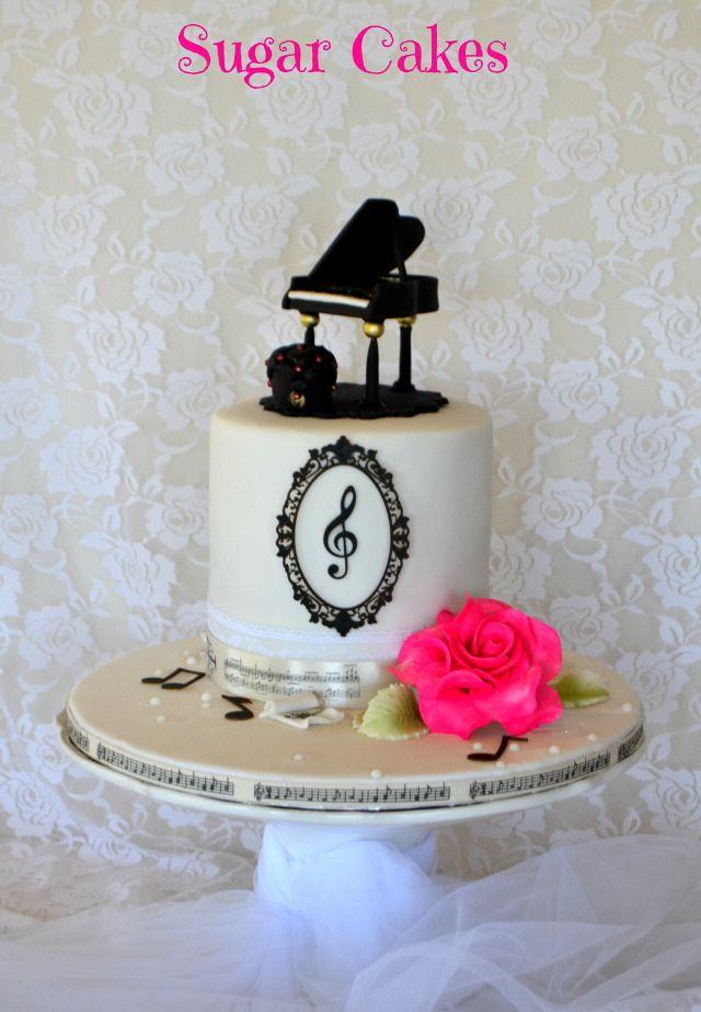 Sugar Cakes Piano Love