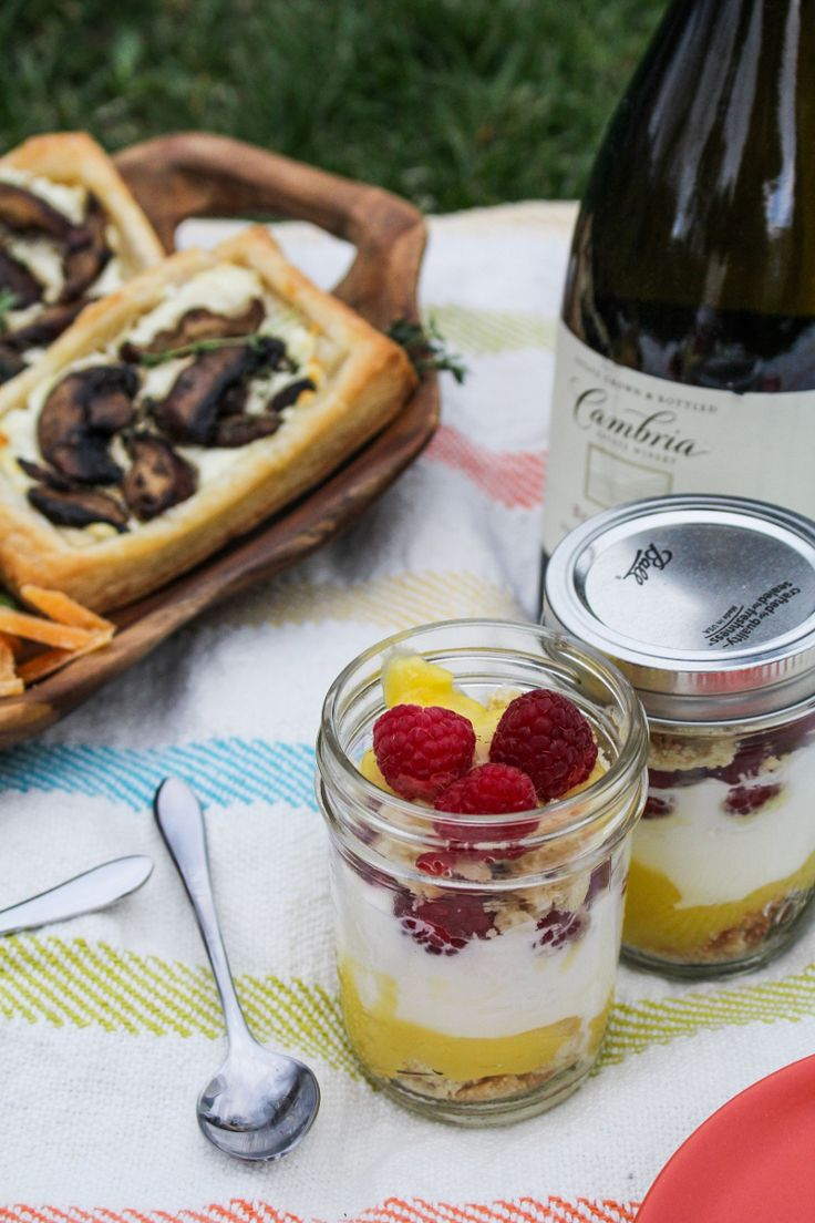 Picnic & Mini Lemon Curd Trifles / by Katie at the Kitchen Door