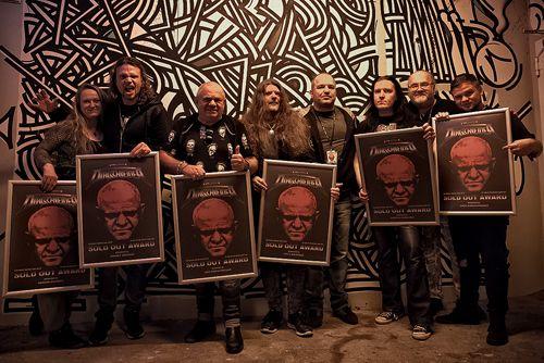 """Dirkschneider – Erhält """"Sold Out""""-Award für die erfolgreichste Tour seiner (Solo-)Karriere   Metalunderground"""